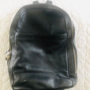 Coach Charles Slim Backpack In Sport Calf Leather